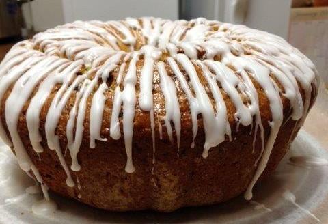 Dried cherry coffee cake recipe