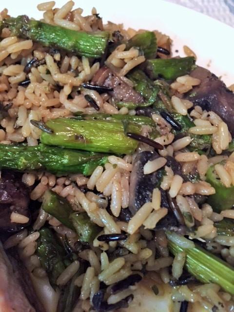 asparagusmushrmrice