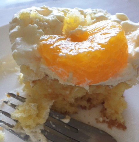 Mandarin Orange Pineapple Cake